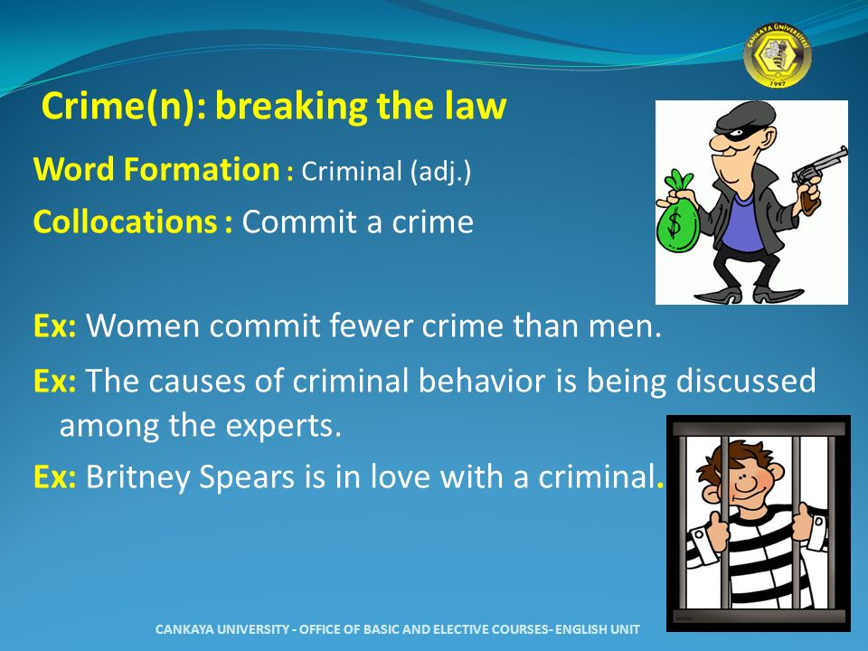 crime collocations Collocation in use - inter - download as pdf file (pdf), text file (txt) or read online good.