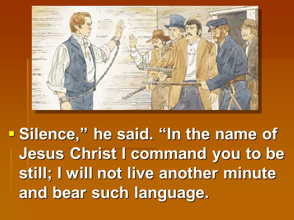  Joseph hated what they were saying.