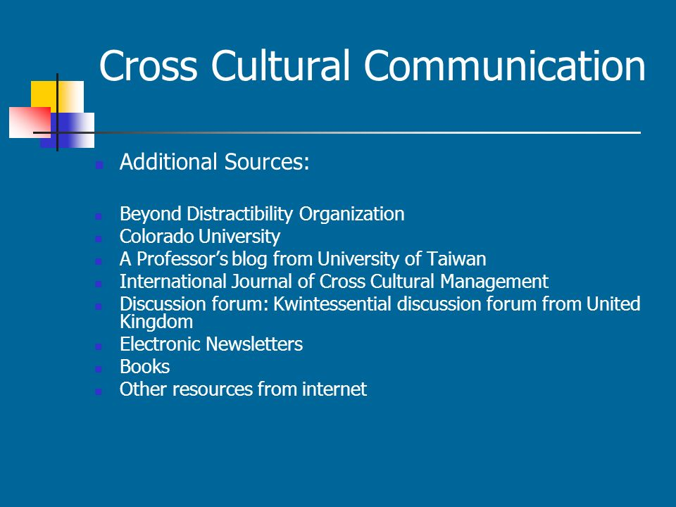 thesis statement for cross-cultural communication Running head: effective organizational communication affects attitude, happiness, and job satisfaction a thesis submitted to southern utah university.