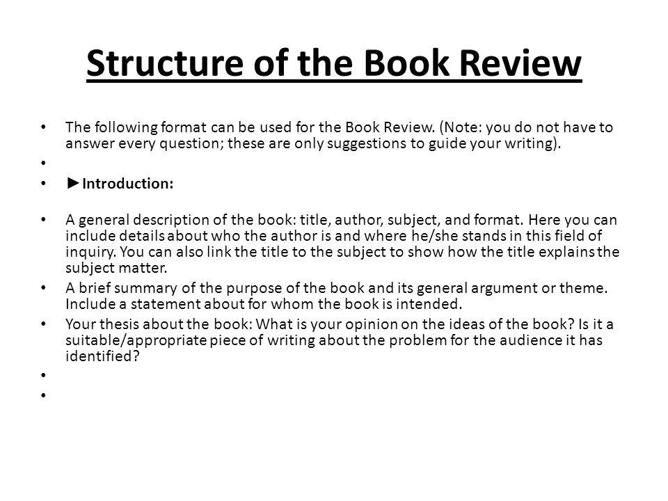 Essay Write A Book Review For Me