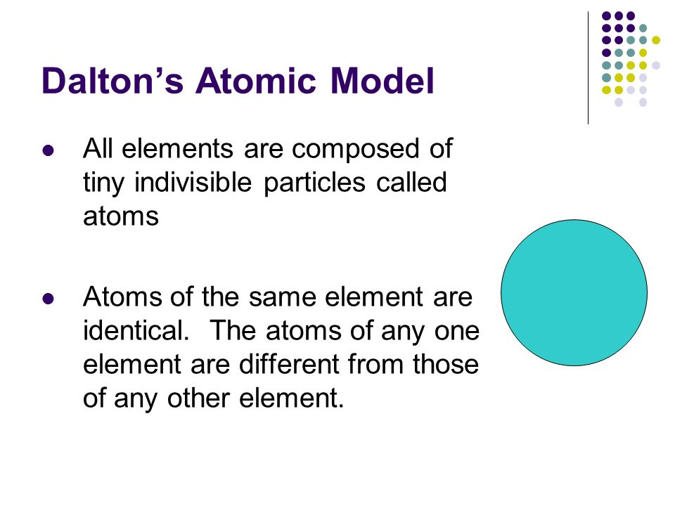 Atomic theory and structure chapters 4 5 atomic theories theories democritus 400 bc believed that atoms were indivisible and indestructible dalton 1800s developed through experiments first atomic model ccuart