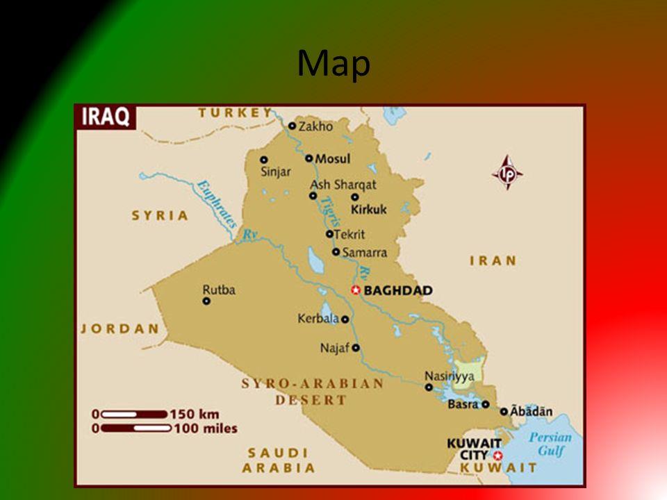 Iraq Daniel DAquila Map Geography Location Iraq is located in
