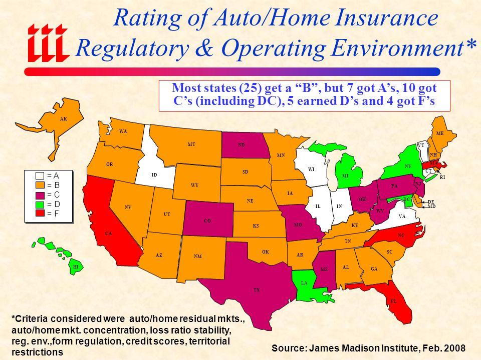 REGULATORY & LEGISLATIVE ENVIRONMENT Significant Diversity Across States