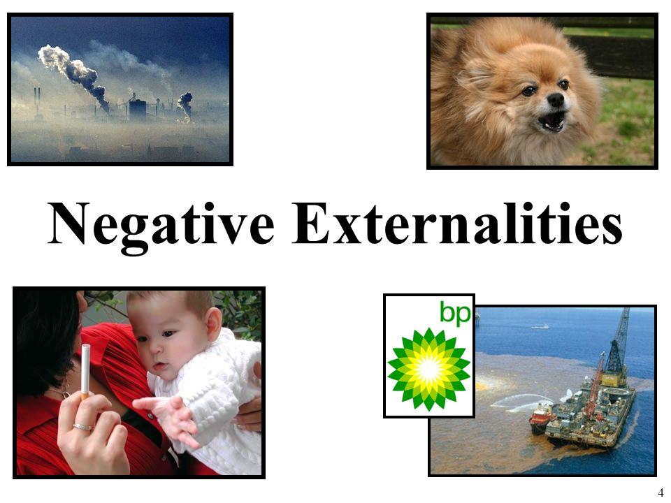 Negative Externalities 4