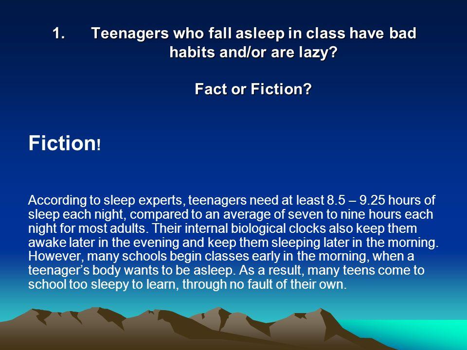 fall to sleep