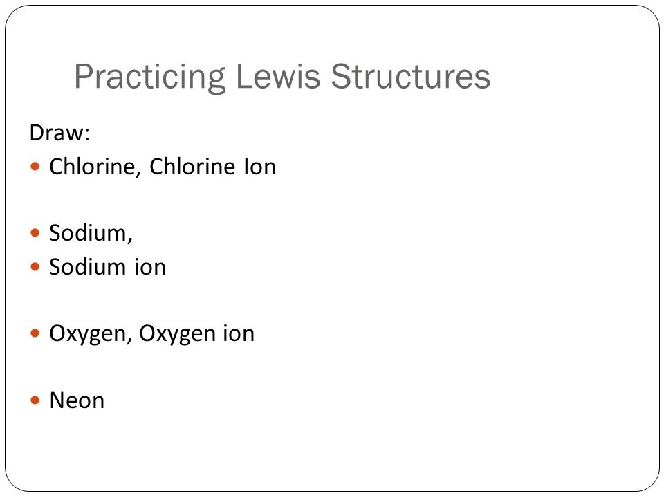 Lewis Dot Structure Chlorine Ion 16451 Loadtve