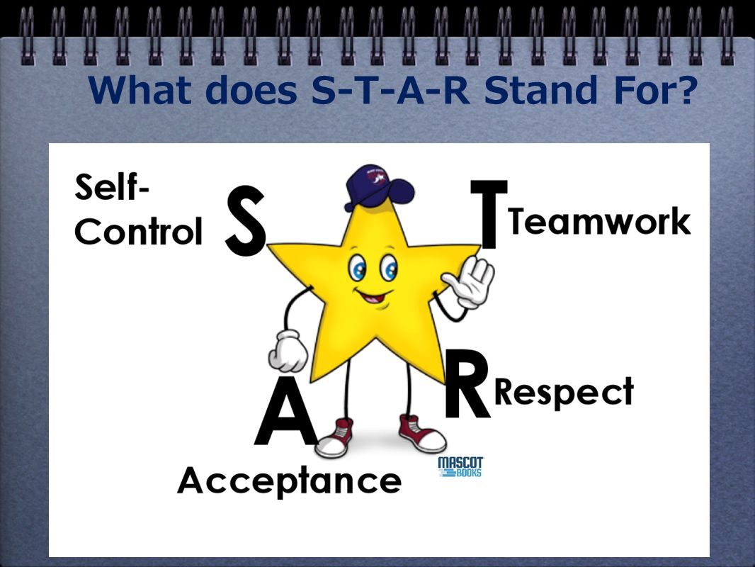 What does S-T-A-R Stand For