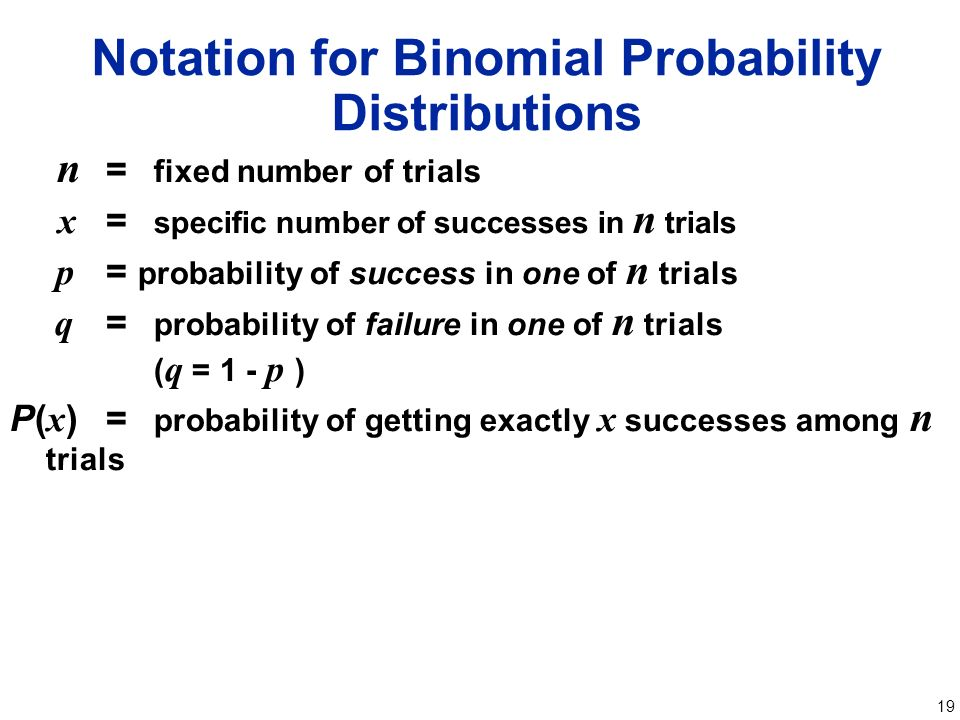 1 Chapter 4 Probability Distributions 41 Random Variables 42 – Binomial Probability Worksheet