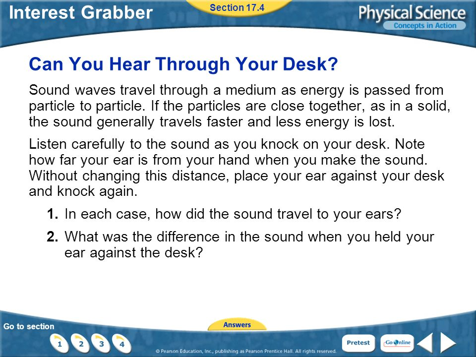 Go to section Interest Grabber Can You Hear Through Your Desk.