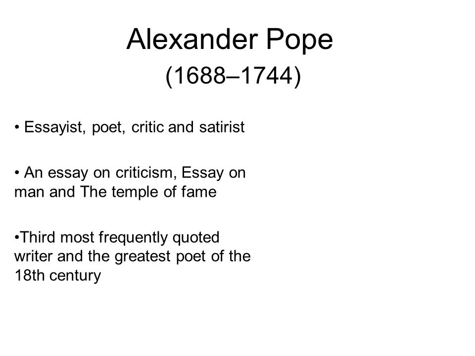 alexander pope essay criticism quotes 59 quotes from an essay on criticism: 'to err is human, to forgive, divine.