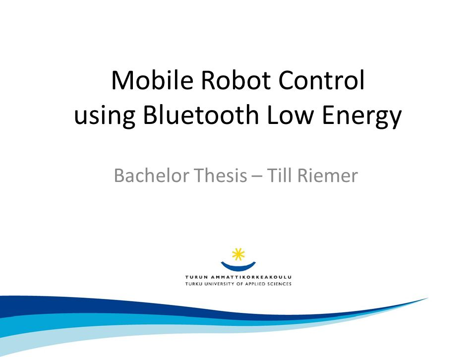 thesis on bluetooth