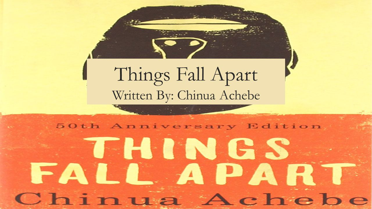the irony in things fall apart a novel by chinua achebe Chinua achebe's novel, things fall apart, is structured around the life and culture of an african tribe, the ibo this tale is of how the ibo lost their way and themselves, from the perspective of the main character, okonkwo.