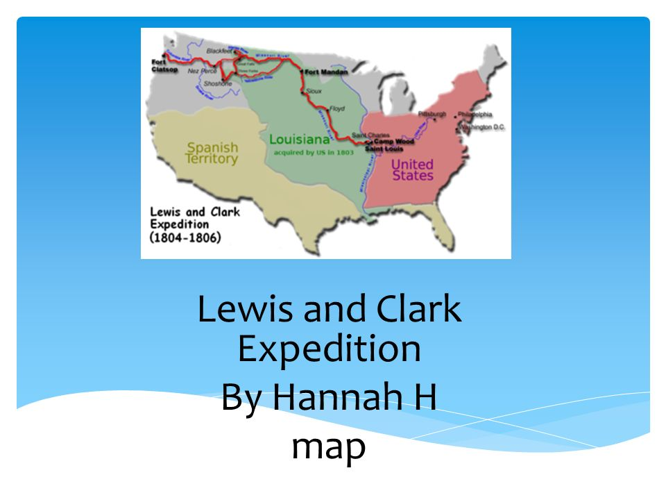 a narrative of lewis and clark the most famous and important expedition in the united states How important sacagawea was to the lewis led lewis and clark on their famous expedition to and clark's expedition the united states of.