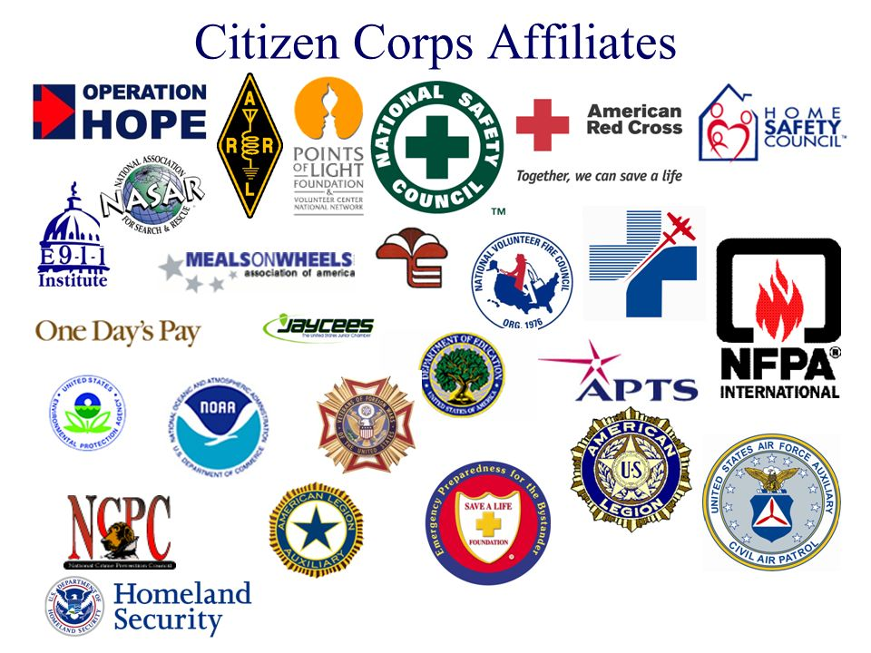 Citizen Corps Affiliates