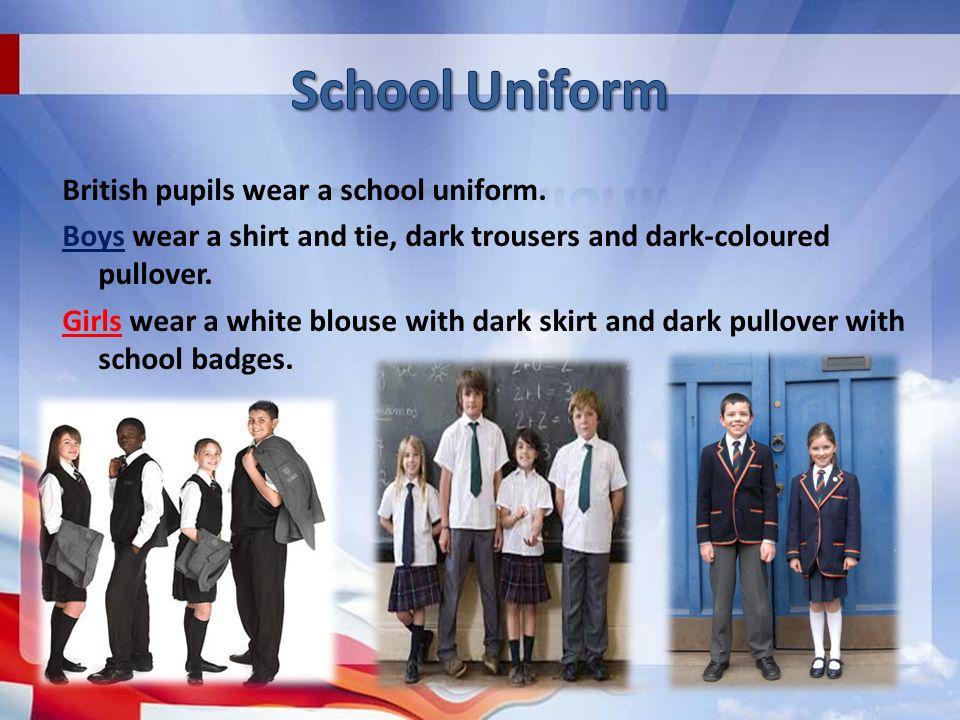 compulsory school uniform
