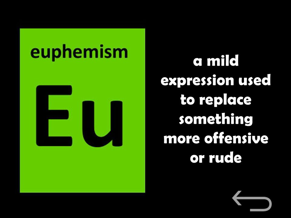 a mild expression used to replace something more offensive or rude