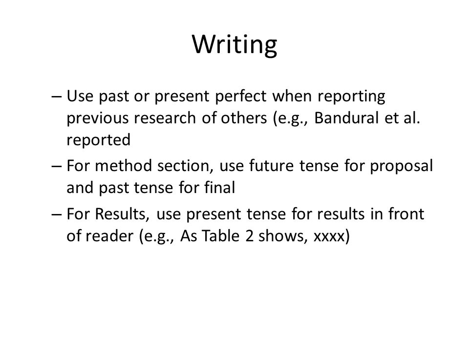 method section of research paper