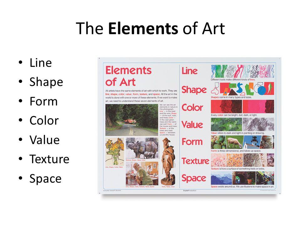 formal elements of art