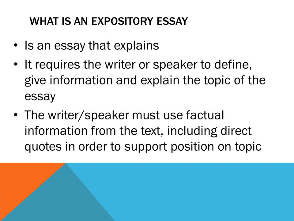 the expository essay what is an expository essay is an essay that the expository essay 2 what