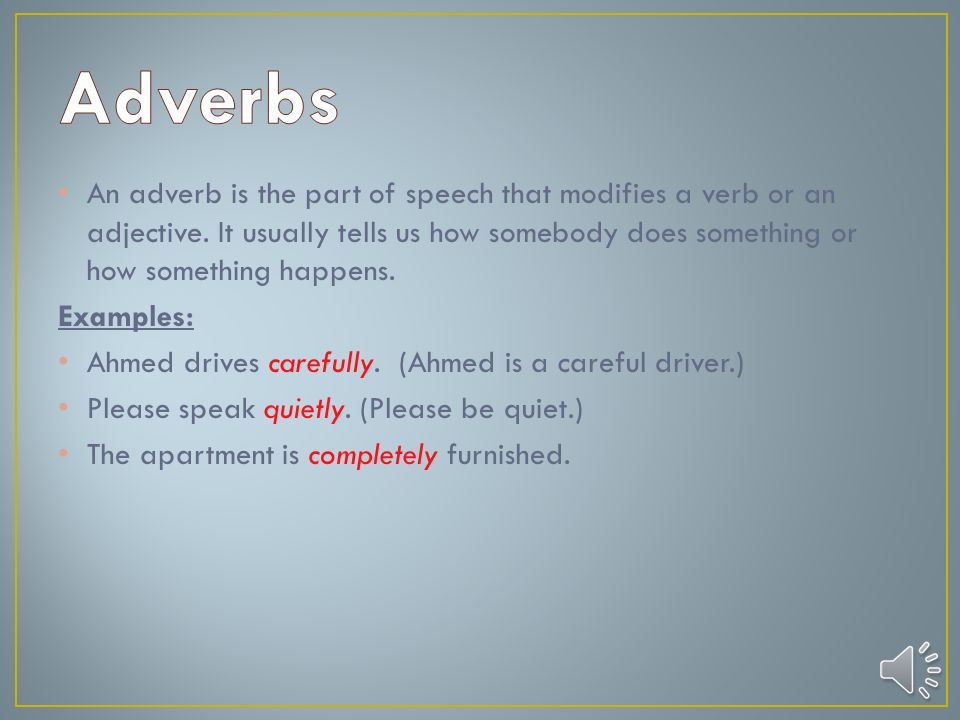 An adjective is the lexical item that is used to describe a noun or a  pronoun