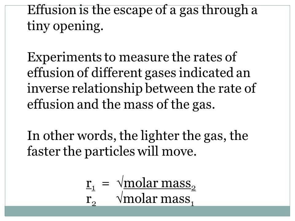 Other Words For Tiny other words for tiny 117 decor ideas in other words for tiny 9 Effusion Is The Escape Of A Gas Through A Tiny Opening Experiments To Measure The Rates Of Effusion Of Different Gases Indicated An Inverse Relationship
