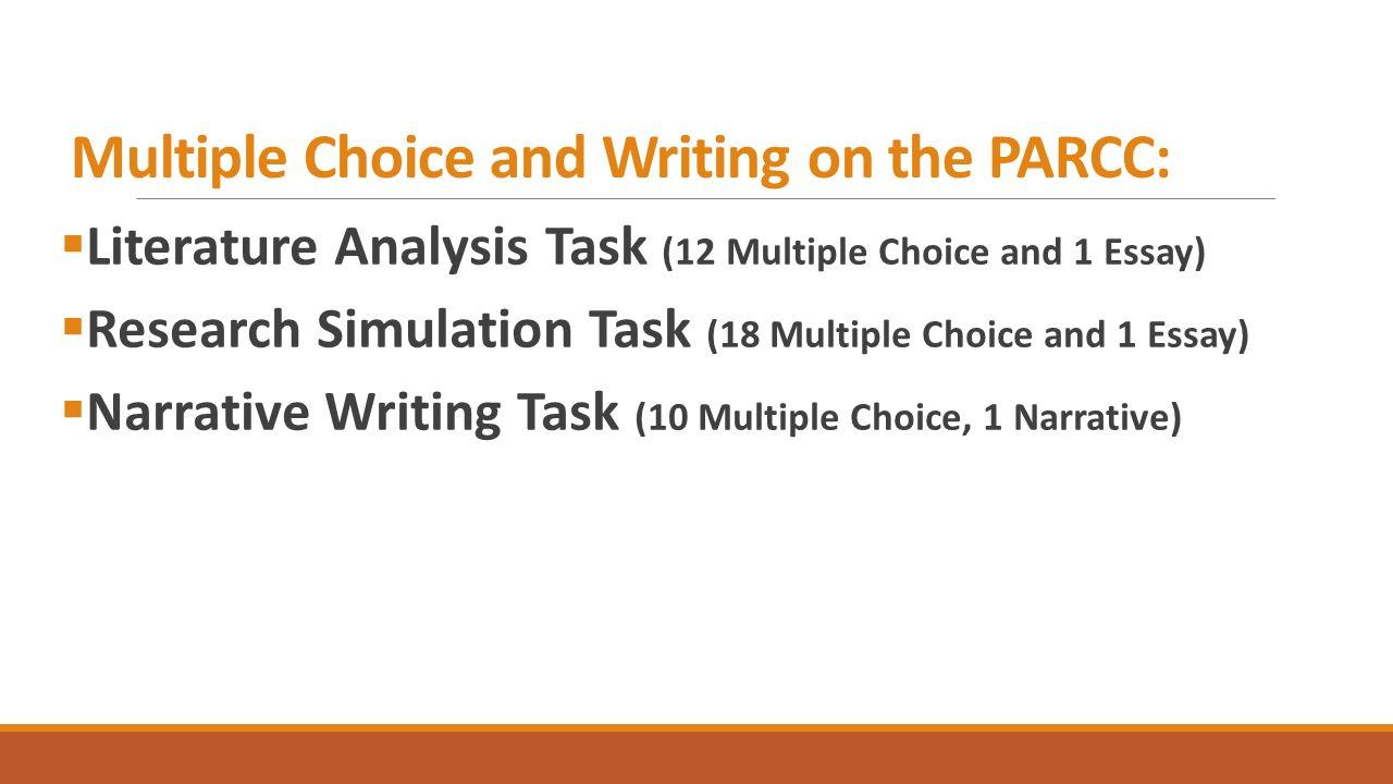 multiple choice essay
