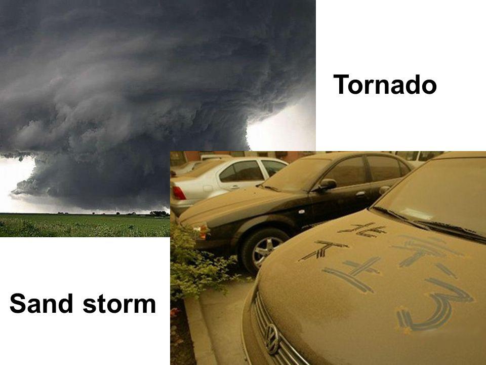 Tornado Sand storm