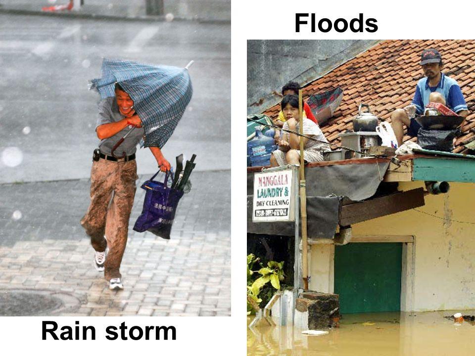 Rain storm Floods