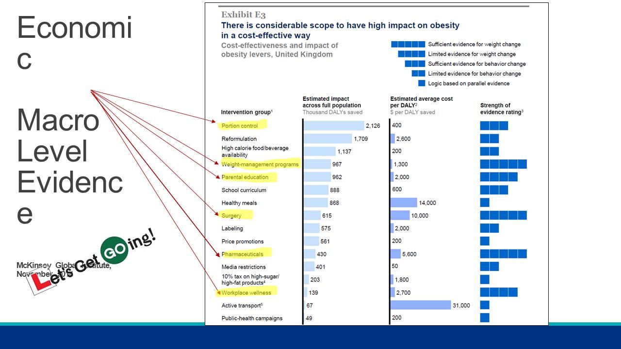 Economi c Macro Level Evidenc e McKinsey Global Institute, November 2014