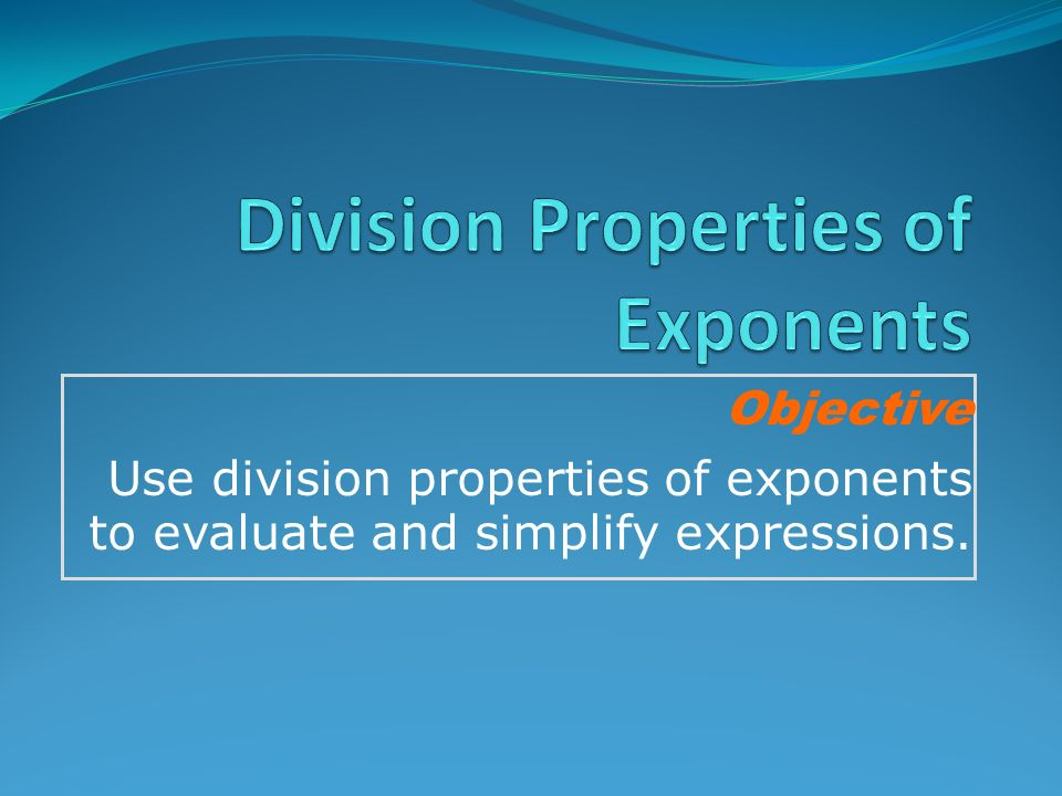 Division Properties Of Exponents Worksheet Answers 7 4 – Division Property of Exponents Worksheet