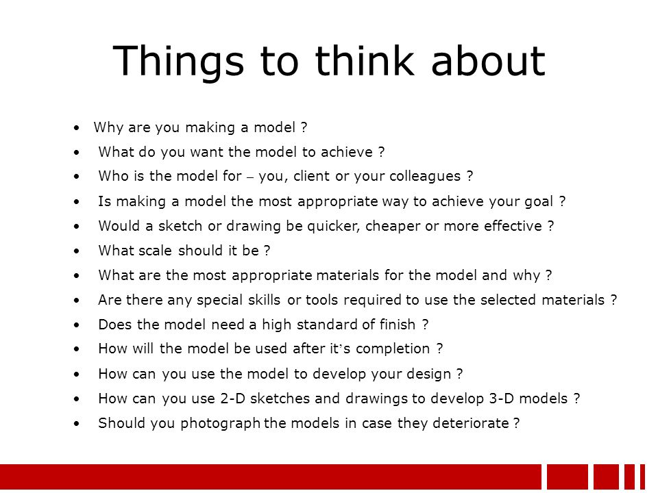 why do you want to be a model