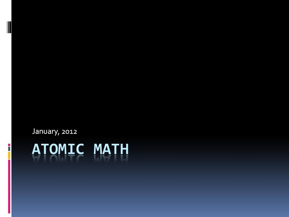 January regular atoms atomic number the number of protons 1 january 2012 urtaz Image collections