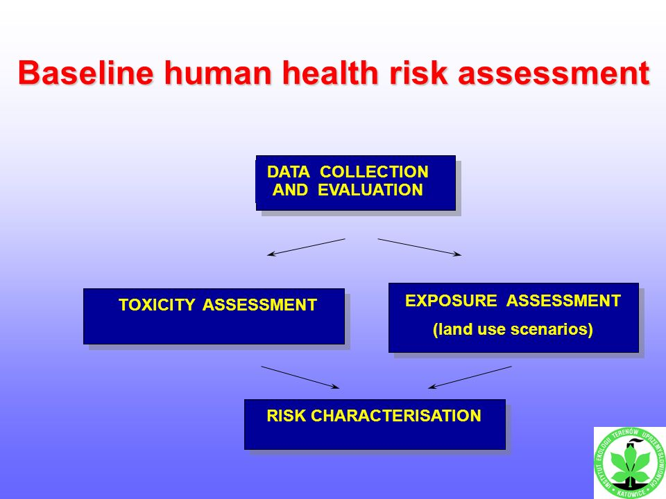 Examples Of Health Risk Assessment Applications For Contaminated