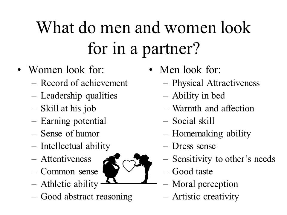 What Do Guys Look For In A Woman