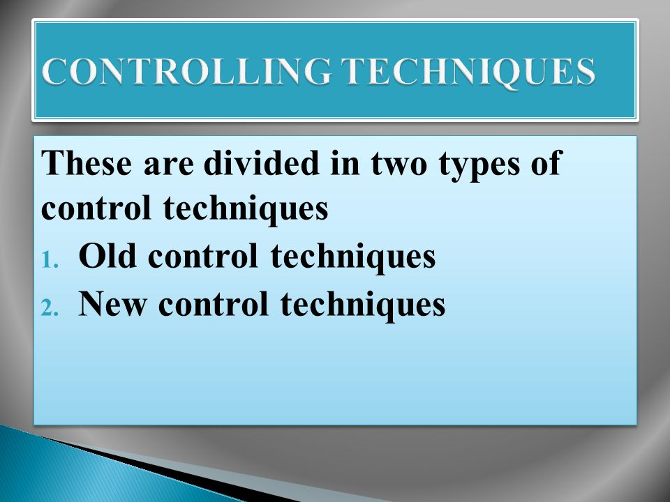  Control over policies  Control over organisation structure  Control over personnel  Control over wages and salaries  Control over costs  Control over methods and manpower  Control over capital expenditure  Control over service departments  Control over line of products  Control over R & D  Control over foreign operations  Control over external relations  Over all control  Control over policies  Control over organisation structure  Control over personnel  Control over wages and salaries  Control over costs  Control over methods and manpower  Control over capital expenditure  Control over service departments  Control over line of products  Control over R & D  Control over foreign operations  Control over external relations  Over all control