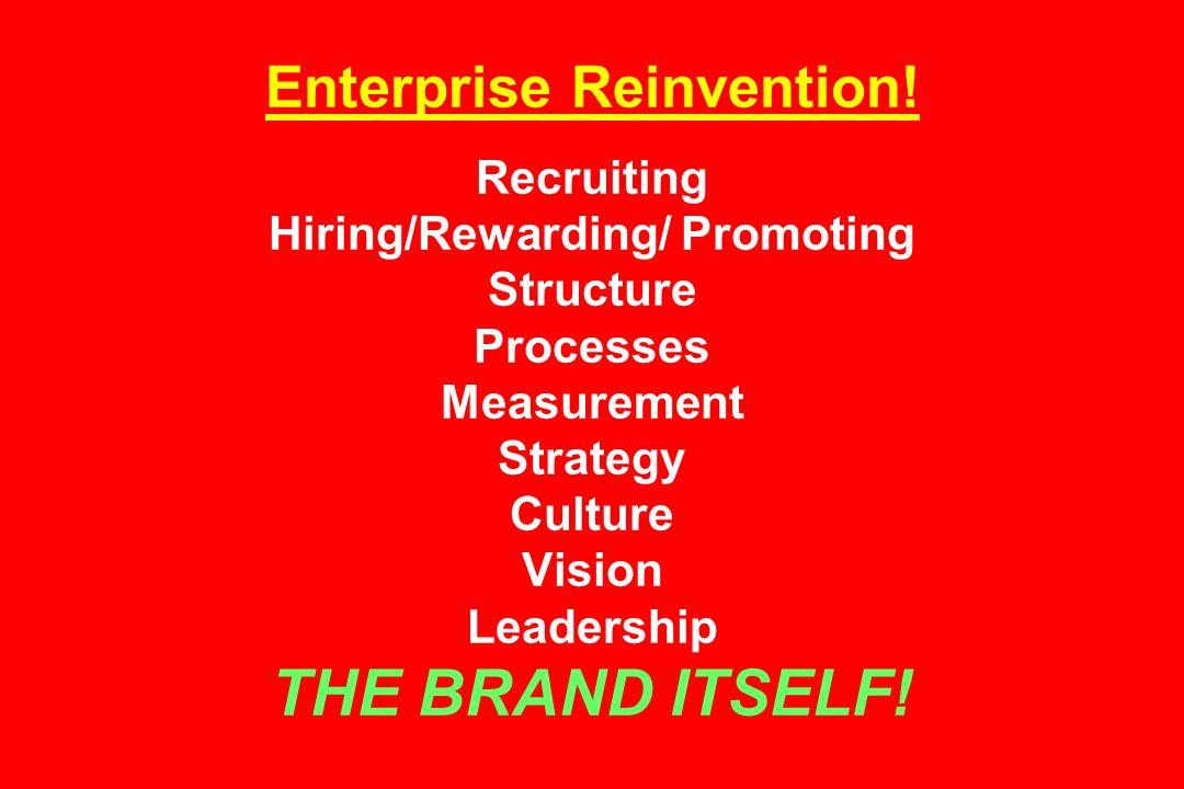 Enterprise Reinvention.