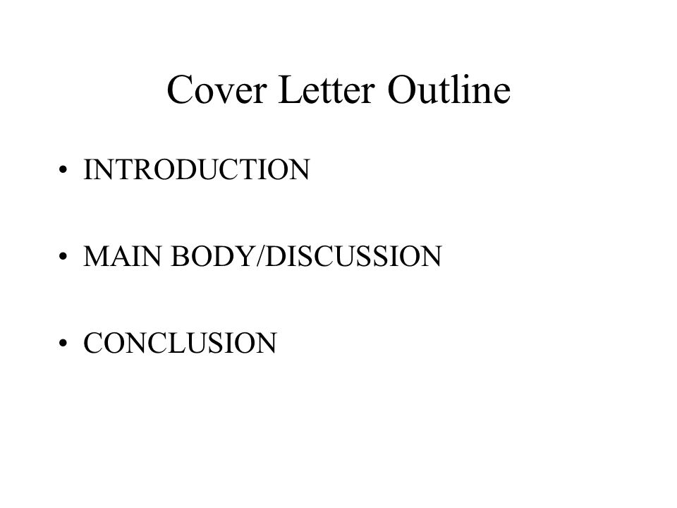 COVER LETTERS What is a Cover Letter Main goal is an interview – Interview Cover Letter