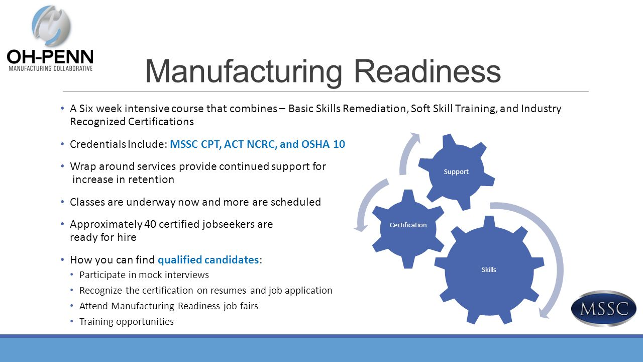 Enhancing economic and workforce development the manufacturing 24 manufacturing readiness xflitez Images