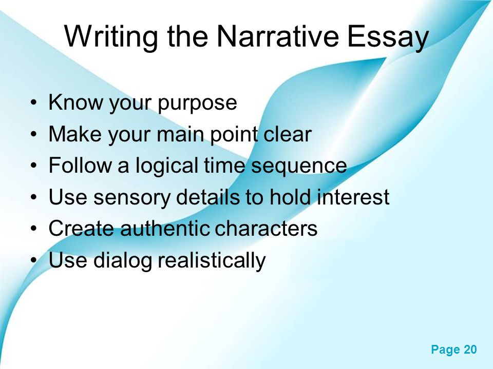 essay about powerpoint Reflective essays: a reflective essay consist of reflections or thoughts on some topic, which is generally of an abstract nature narrative essays: a narrative essay consists mainly in the narration of some.