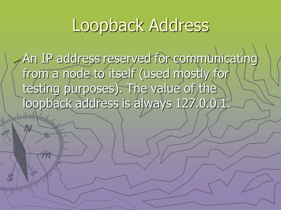 IPX Address ► An address assigned to a device on an IPX/SPX network.