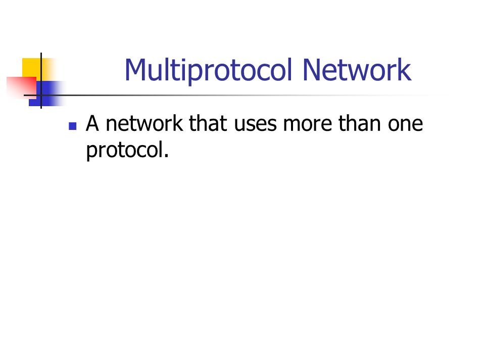 Loopback Address ► An IP address reserved for communicating from a node to itself (used mostly for testing purposes).