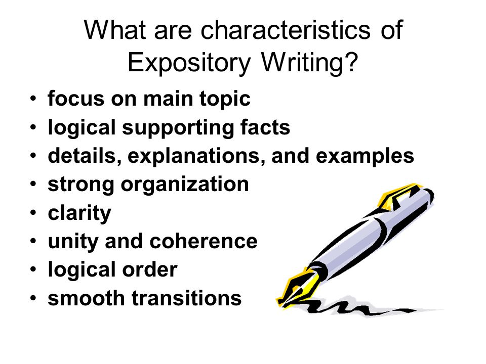 Writing help strong topics for expository