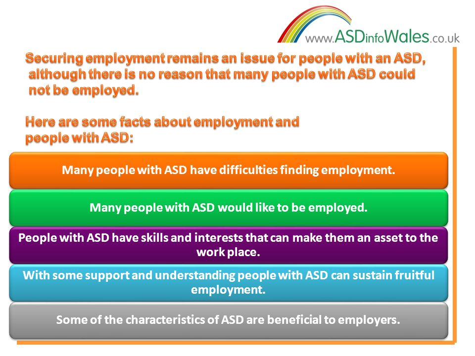 people with asd