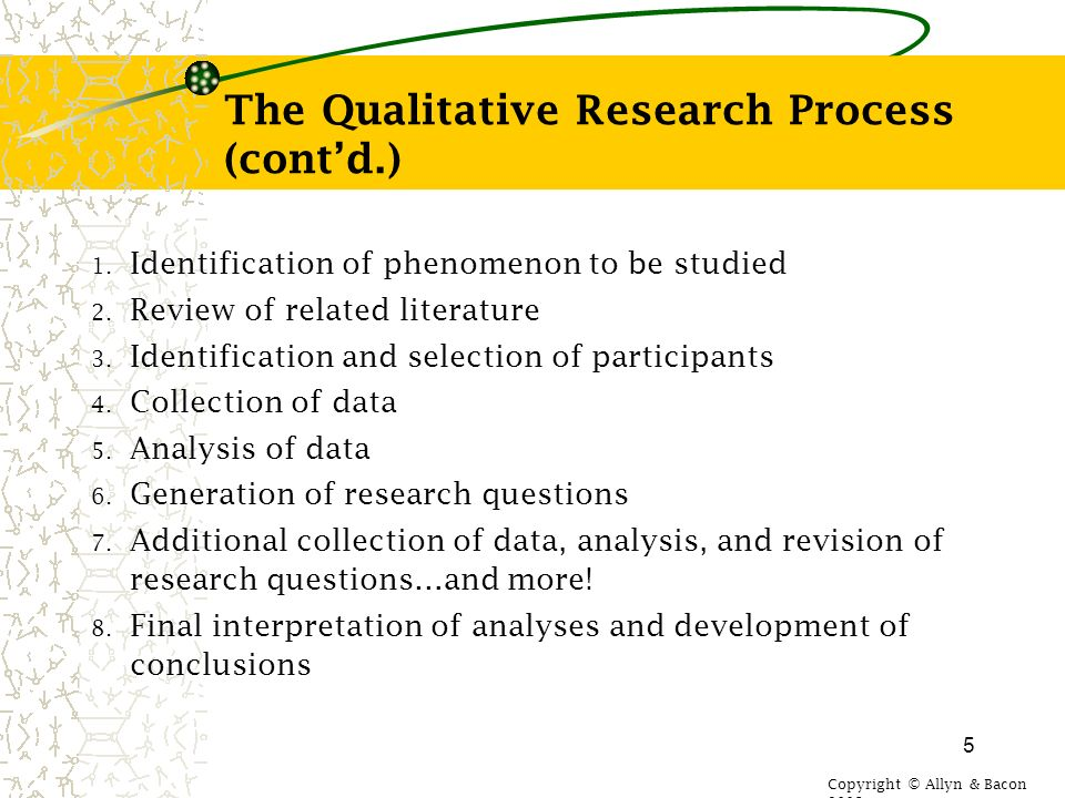 qualitative research methods literature review