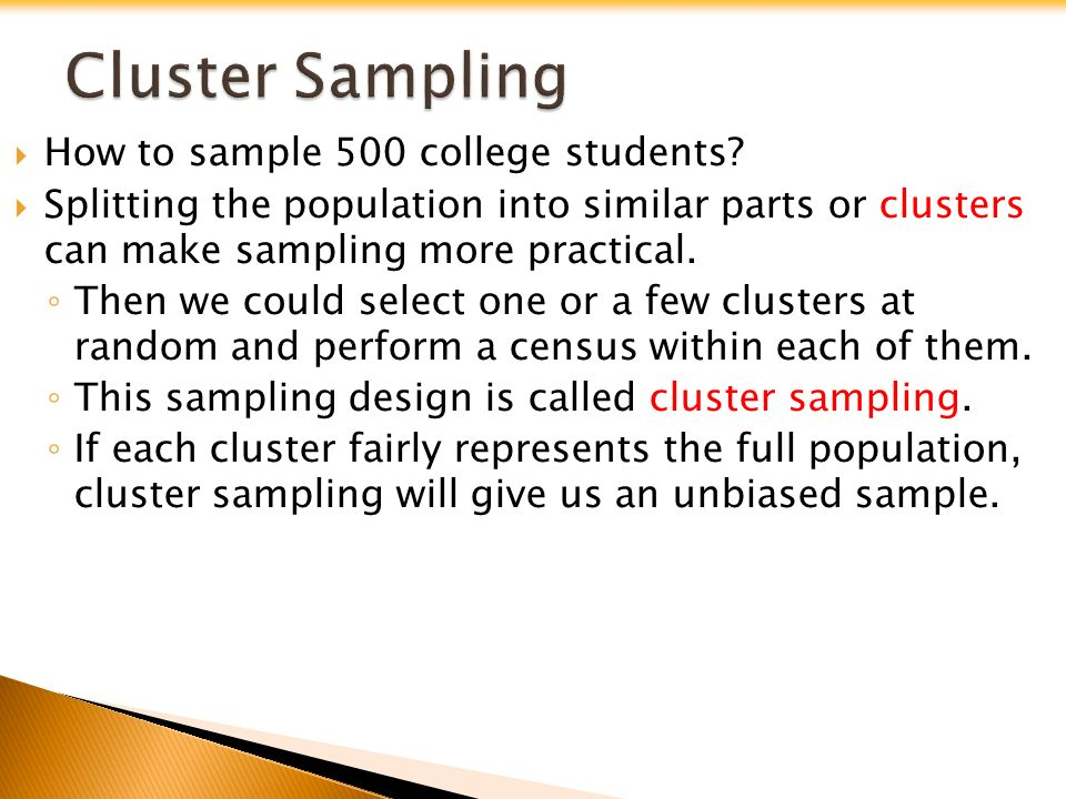  How to sample 500 college students.