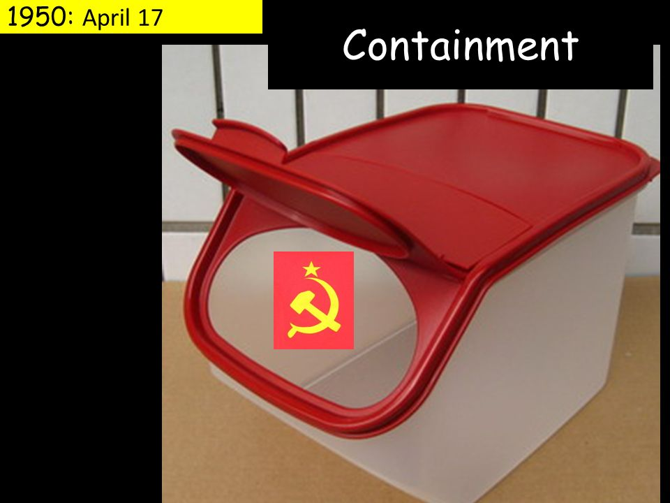 1950: April 17 Containment