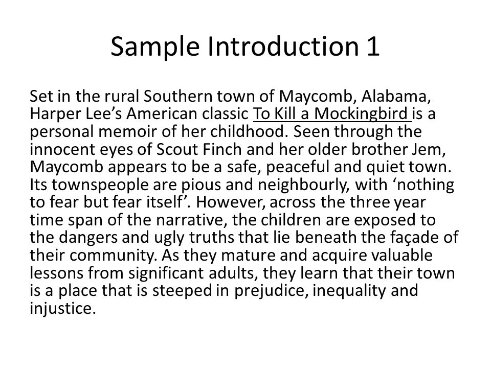 to kill a mockingbird innocence essay How can the answer be improved.