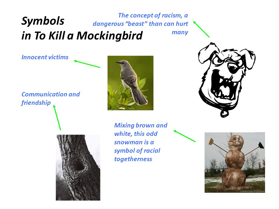 symbolism in to kill a mockingbird by harper lee
