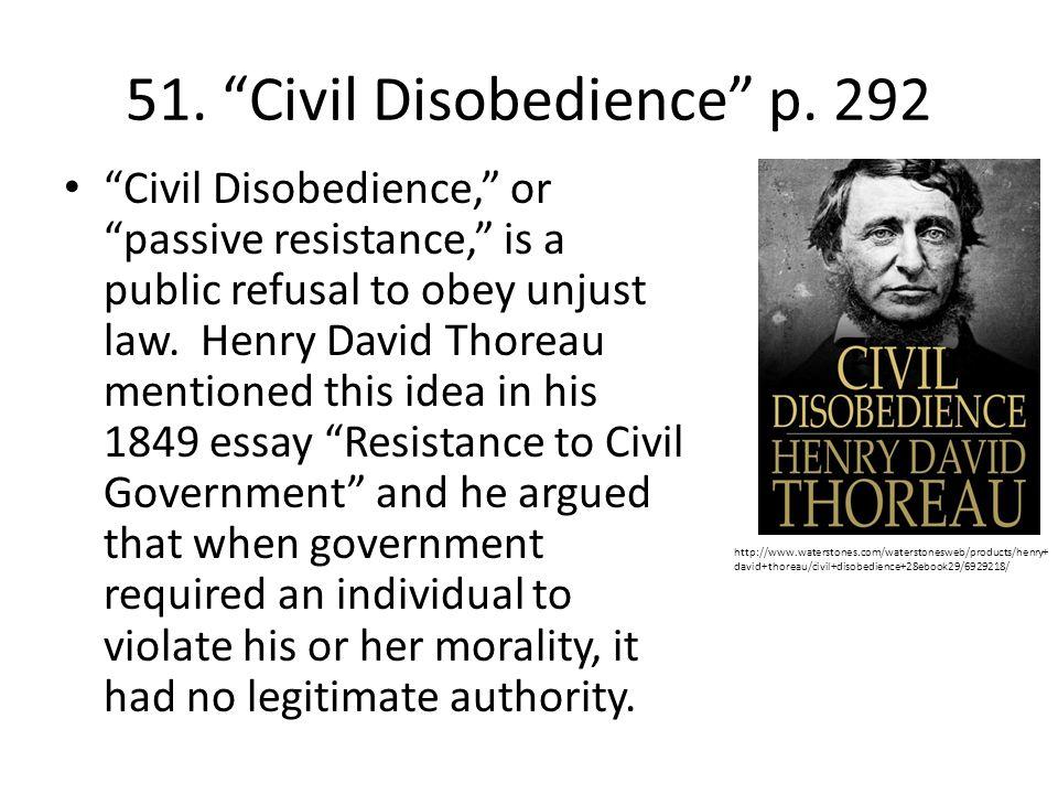 argumentative essay civil disobedience