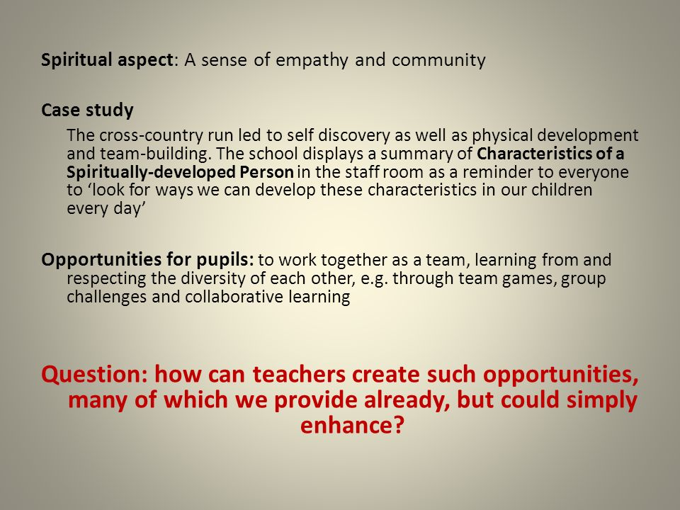 a case study in collaborative school
